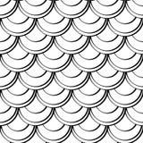 Безшовная иллюстрация вектора картины Стоковые Изображения