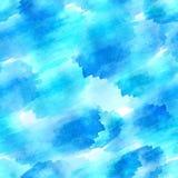 Безшовная картина акварели вектора Стоковое Изображение