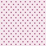 Безшовная картина вектора с звездами иллюстрация штока