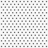Безшовная картина вектора с точками польки Стоковая Фотография RF