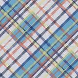 Безшовная картина вектора тартана striped покрашенная светом картина шотландки Стоковые Изображения