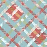 Безшовная картина вектора тартана striped картина шотландки Стоковая Фотография
