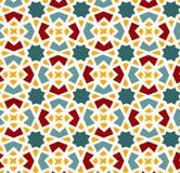 Безшовная картина в исламском стиле Стоковое Фото