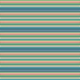 Безшовная картина, геометрическая картина Стоковая Фотография