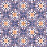 Безшовная картина года сбора винограда геометрии Стоковые Изображения