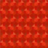 Безшовная картина гранила красный рубин, предпосылку элемента дизайна 3d стоковое изображение rf
