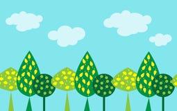 Безшовная картина декоративной древесины бесплатная иллюстрация