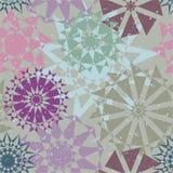 Безшовная картина для ткани, бумаги Стоковое Изображение RF