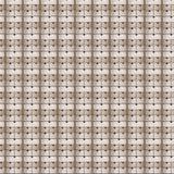 Безшовная картина деревянных ящиков Стоковое Изображение