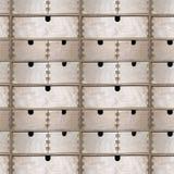 Безшовная картина деревянных ящиков Стоковая Фотография