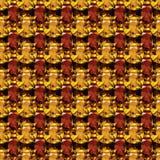 Безшовная картина желтого топаза иллюстрация штока