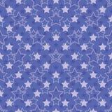 Безшовная картина звезд Стоковое Изображение
