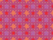 Безшовная картина звезд Стоковые Изображения RF