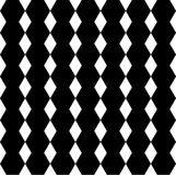Безшовная картина зигзага. Стоковая Фотография RF