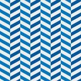 Безшовная картина зигзагов в тенях сини Стоковая Фотография