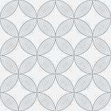 Безшовная картина, дизайн круга, иллюстрация Стоковые Изображения RF