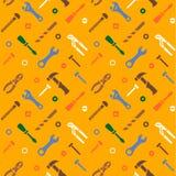 Безшовная картина инструментов бесплатная иллюстрация
