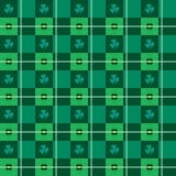Безшовная картина искусства вектора Argyle-Шотландки Стоковая Фотография RF