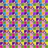 Безшовная картина иллюзии пузыря Стоковые Фотографии RF