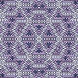 Безшовная картина конспекта плитки мозаики иллюстрация штока