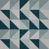 Безшовная картина конспекта треугольника Стоковое Изображение
