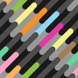 Безшовная картина красивых цветных барьеров Стоковые Изображения RF