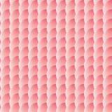Безшовная картина красных кругов Стоковое Фото