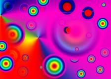 Безшовная картина круга Стоковая Фотография RF