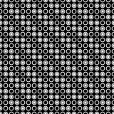 Безшовная картина кругов и колец предпосылка геометрическая иллюстрация штока
