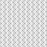 Безшовная картина кругов и линий предпосылка геометрическая Стоковые Фото