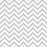 Безшовная картина линий зигзага предпосылка геометрическая Стоковое Фото