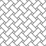 Безшовная картина линий предпосылка геометрическая Необыкновенная решетка Стоковая Фотография