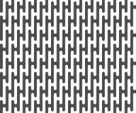 Безшовная картина линий предпосылка геометрическая Стоковая Фотография RF