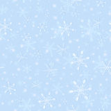 Безшовная картина нежной снежинки для оборачивать иллюстрация вектора