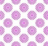 Безшовная картина, обои с мотивами цветка Простое monochrom Стоковое Изображение RF