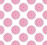 Безшовная картина, обои с мотивами цветка Простое monochrom Стоковая Фотография
