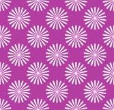 Безшовная картина, обои с мотивами цветка Простое monochrom Стоковые Изображения