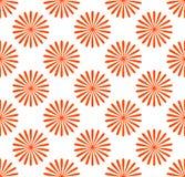 Безшовная картина, обои с мотивами цветка Простое monochrom Стоковые Изображения RF