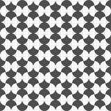 Безшовная картина округлых форм повторения предпосылка геометрическая Стоковое фото RF