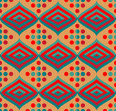 Безшовная картина орнамента Стоковые Фотографии RF