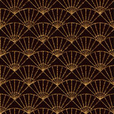Безшовная картина основанная на японских мотивах sashiko Стоковое Фото