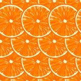 Безшовная картина от куска зрелого апельсинаdeliciousСтоковые Фото