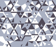 Безшовная картина от простых триангулярных элементов Стоковые Изображения