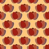Безшовная картина от яичек Стоковые Фотографии RF