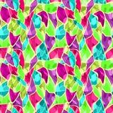 Безшовная картина плитки стекла мозаики сломанная Стоковое Изображение
