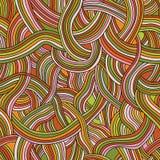 Безшовная картина покрашенных прокладок ровной Стоковая Фотография RF