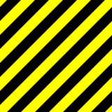 Безшовная картина предпосылки желтых и черных нашивок Опасность, полиция или под темой конструкции также вектор иллюстрации притя иллюстрация штока