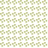 Безшовная картина предпосылки с повторять листья бесплатная иллюстрация