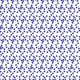 Безшовная картина предпосылки с повторять цветки незабудки иллюстрация штока
