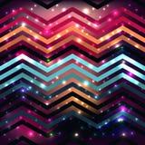 Безшовная картина предпосылки с полигональной формой Стоковая Фотография RF